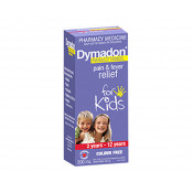 Dymadon 2-12 Years Strawberry Colour Free 200ml