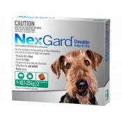 Nexgard Chewables For Dogs 10.1-25kg 3 Pack