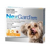 Nexgard Chewables For Dogs 2-4kg 3 Pack