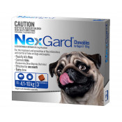 Nexgard Chewables For Dogs 4.1-10kg 3 Pack