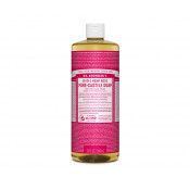 Dr Bronners Pure Castile Liquid Soap Rose 946ml