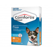 Comfortis for Dogs 4.6 - 9kg Orange 6 Chewable Tablets