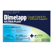 Dimetapp Ultra Plus Cough Cold & Flu + Immune Support 24 + 7 Liquid Capsules