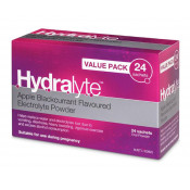 Hydralyte Powder Apple&Blackcurrent 4.9g x 24 Sachets