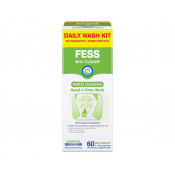 Fess Sinu-Cleanse Daily Kit with 60 Sachets & Squeese Bottle