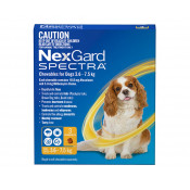 Nexgard Spectra Chewable for Dogs 3.6-7.5kg 3 Pack