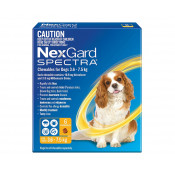 Nexgard Spectra Chewable for Dogs 3.6-7.5kg 6 Pack