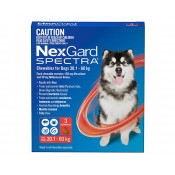 Nexgard Spectra Chewable for Dogs 30.1-60kg 3 Pack