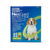 Nexgard Spectra Chewable for Dogs 7.6 -15kg 3 Pack