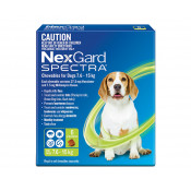 Nexgard Spectra Chewable for Dogs 7.6 -15kg 6 Pack