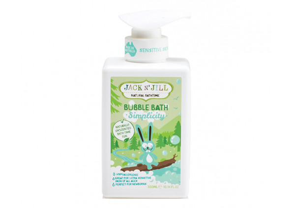 Jack n Jill Bubble Bath Simplicity 300ml