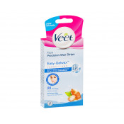 Veet Easy Wax Face Precision Wax Strips Sensitive 20 Pack