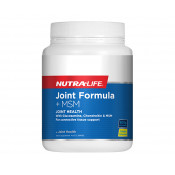 Nutra-Life Joint Formula + MSM Lemon Powder 500g
