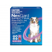 Nexgard Spectra Chewable for Dogs 15.1-30kg 6 Pack