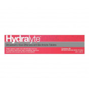 Hydralyte Effervescent Strawberry&Kiwi 20 Tablets