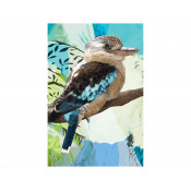 KE Design Tea Towel Kookaburra