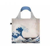 Loqi Shopping Bag Museum Collection Great Wave