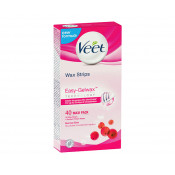 Veet Easy Gel Wax Strips Hair Removal 40 Pack