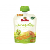 Holle Organic Pouch Veggie Bunny Carrot & Sweet Potato with Peas 90g
