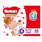 Huggies Essentials Nappies Size 4 46 Pack