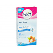 Veet Easy Gel Wax Strips Sensitive Skin 20 Pack