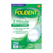 Polident 3 Minute Daily Cleaner 36 Tablets