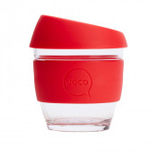 Joco 8oz Reusable Cup Red