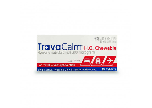 Travacalm H.O. 10 Tablets