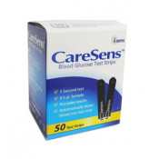 Caresens Blood Glucose Test Strips 50 Pack