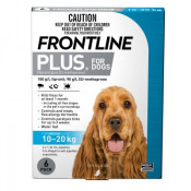 Frontline Plus for Medium Dogs 10-20kg Blue 6 Doses