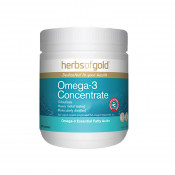 Herbs of Gold Omega-3 Concentrate 200 Capsules