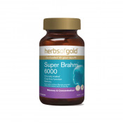 Herbs of Gold Super Brahmi 6000 60 Tablets