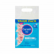 Curash Simply Water Baby Wipes  3 x 80 Pack