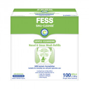 Fess Sinu-Cleanse Gentle Cleansing Wash Refills 100 Pack