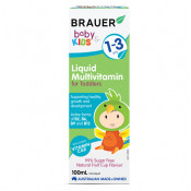 Brauer Baby & Kids Liquid Multivitamin for Toddlers 100ml