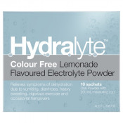 Hydralyte Powder Lemonade 4.9g x 10 Sachets