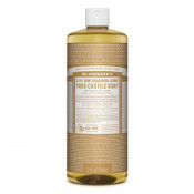 Dr Bronners Pure Castile Liquid Soap Sandalwood Jasmine 946ml
