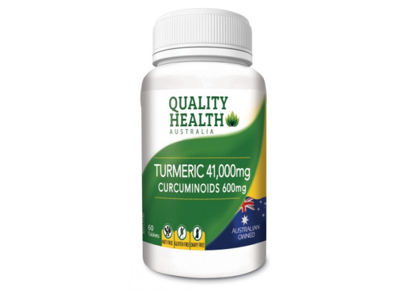 Quality Health Turmeric 41,000mg 60 Tablets