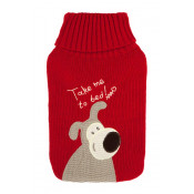 McGloins Hot Water Bottle & Knitted Patch Cover (Designs Vary)