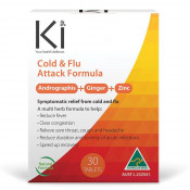Ki Cold & Flu Attack 30 Tablets