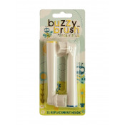 Jack n Jill Buzzy Brush Replacement Heads 2 Pack (New Design)