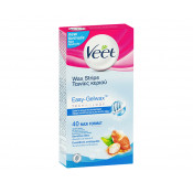 Veet Easy Gel Wax Strips Sensitive Skin 40 Pack