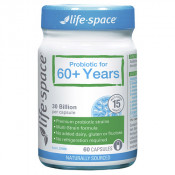 Life-Space Probiotic for 60+ Years 60 Capsules