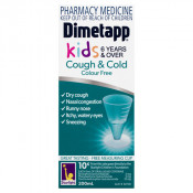 Dimetapp Kids Cough & Cold Colour Free 6 Years & Over 200ml