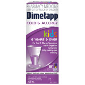 Dimetapp Kids Cold & Allergy 6 Years & Over 100ml