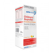 APOHEALTH Childrens Ibuprofen 20mg/ml 6 Mths-12 Yrs 200ml