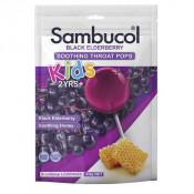Sambucol Kids Throat Pops 8 pack