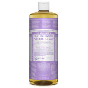 Dr Bronners Pure Castile Liquid Soap Lavender 946ml