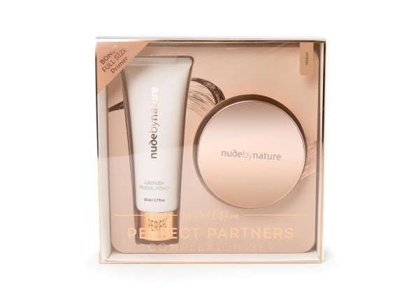 Nude by Nature Perfect Partners Complexion Set Medium