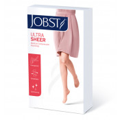 Jobst Ultrasheer Hosiery Waist High Closed Toe 15-20mm Hg Natural Extra Large